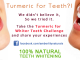 Turmeric for Teeth?!